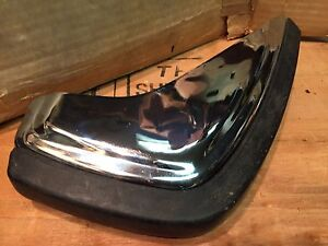 Nos Genuine Gm Nos Vintage Chrome Bumper Guard un known Application