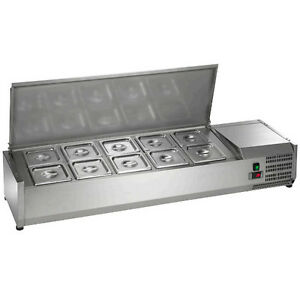 Arctic Air Acp55 55 Refrigerated Counter top Pan Rail
