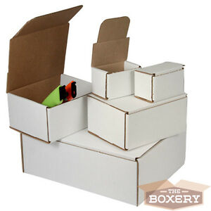 5 X 5 X 5 Corrugated Shipping Mailers From The Boxery 50 pk