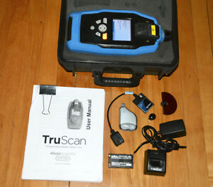 Ahura Thermo Fisher Truscan Material Verification Analyzer Spectrometer
