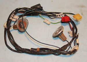67 Galaxie 500 Xl Console Wire Harness Courtesy Lights Bucket Seats Belts