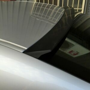 Flat Black Vrs Type Rear Roof Spoiler Wing For Honda Civic Us Coupe 2001 2005