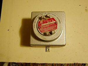 Crouse Hinds Gue 108 Aaaa Explosion Proof Device Junction Box 50 Cubic Inches