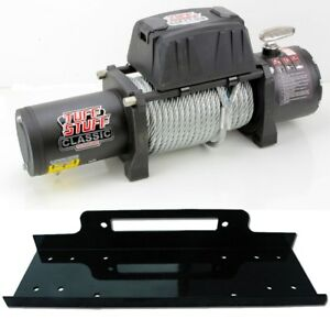 Classic 12 500 Lb Wireless Recovery Winch 12000lbs Universal Winch Mount