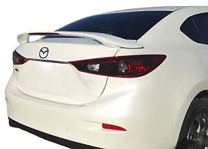 Mazda 3 Factory Style Unpainted Rear Wing Spoiler 2014 2018