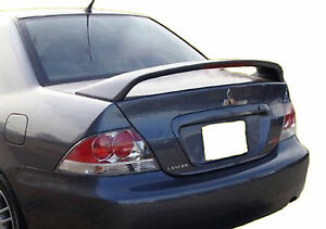 Mitsubishi Lancer Ralliart Factory Unpainted Rear Wing Spoiler 2004 2007