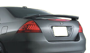 Painted Rear Wing Spoiler For A Honda Accord 4 door Factory 2006 2007