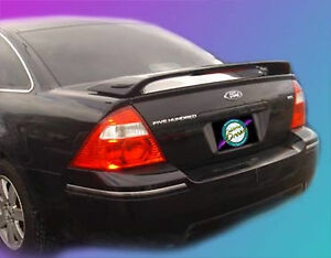 Painted To Match Ford 500 Custom Pedestal Style Rear Wing Spoiler 2005 2007