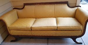 Antique Duncan Phyfe Style Sofa