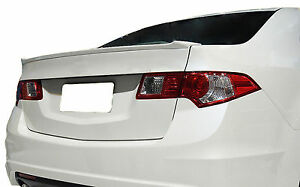 Unpainted Rear Wing Spoiler For An Acura Tsx Factory Style Lip 2009 2013