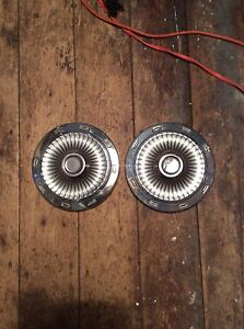 Ford Falcon Comet 9 1 2 White Dog Dish Poverty Hubcaps