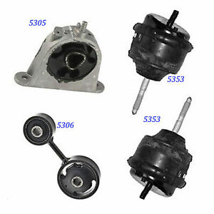 For 2007 2008 Chrysler Pacifica 3 8l Engine Motor Trans Mount Set 4pcs M649