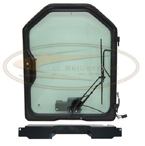 Bobcat Front Door Kit G Series T180 T190 Skid Steer Glass Window Cab Enclosure