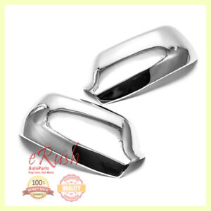 For 2003 2004 2005 2006 2007 Mazda 6 Chrome Side Mirror Covers Cover Special New