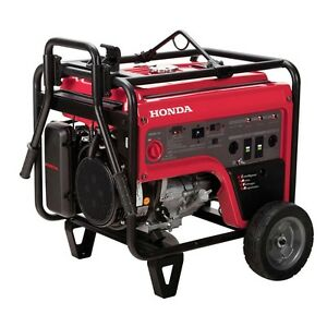 Portable Gas Generator 4 000 Watt 6 2 Gallons 120 240 Volt Carb Wheels