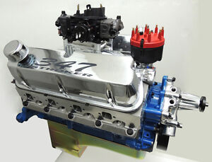 Ford 347 Sbf Stroker Engine 450 Hp Crate Motor