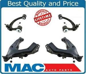 98 07 Lx470 Land Cruiser 2 Upper And 2 Lower Control Arms With Ball Joint