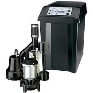 Flotec Fpcc3320 1 3 Hp Combination Primary Backup Sump Pump System