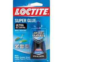 New Loctite Ultra Gel Control 0 14 Fl Oz Super Glue Impact Resistant 6 pack