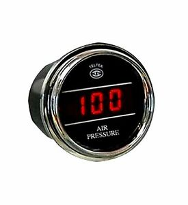 Air Pressure Gauge For Kenworth 2005 Or Previous With Psi Range 0 100