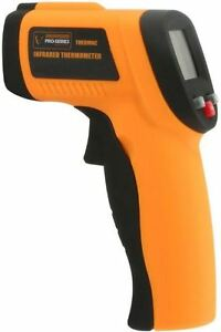 Infrared Thermometer Laser Sight Digital Backlit Lcd Fast Response Non contact