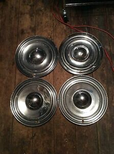 1951 52 Chrysler New Yorker 15 Hubcaps