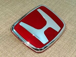 1pcs Jdm Endless Red Emblem Badge For Accord Civic Crx Prelude S2000 Integra