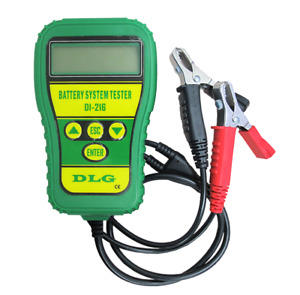 Dlg Di 216 12v Automotive Battery Tester Vehicle Car Battery Tester Analyzer