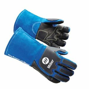 Miller Heavy duty Mig stick Welding Gloves Large 263350 263351 Xl Arc Armor