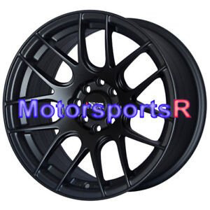 Xxr 530 16x8 20 Flat Black Wheels Rims Concave 4x100 94 98 01 Acura Integra Gsr