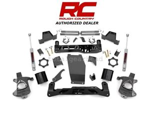 2014 2017 Chevrolet Gmc 1500 4wd 6 Rough Country Lift Kit Cast Steel 226 20