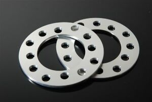 2 Cnc 3mm Wheel Spacers Adapters For 5 Lug For Toyota Camry Celica Corolla