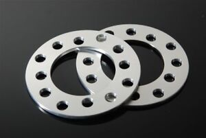 2 Cnc Universal 3mm Wheel Spacers Adapters For 5 Lug Fits Scion Tc Xd Xb Frs