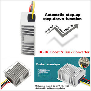 Universal Auto Car Power Automatic Voltage Regulator Dc Dc Boost