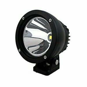 1x 4 25w Led Work Light Round Spot Driving Fog Lamp Offroad Truck 4wd Suv Boat