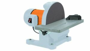 12 in. 1-14 HP Disc Sander Benchtop Table Sanding Wood Metal Smoothing Shaping