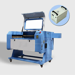 Cw 3000 Chiller Reci100w Laser Tube Co2 Usb Laser Engraving Cutting Machine