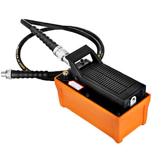 Auto Body Shop Air Hydraulic Foot Pump 10000 psi Foot Pedal High Pressure