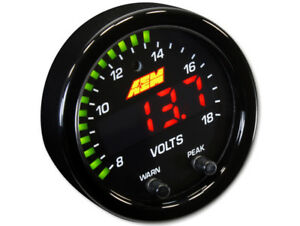 Aem 30 0303 X Series 8 18v Volts Gauge 2 1 16 52mm