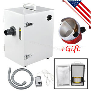 Usa Dental Lab Digital Single row Dust Collector Vacuum Cleaner 1 Suction Base