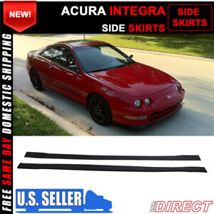 For 94 01 Acura Integra Dc2 Side Skirts Extensions Splitters Pp