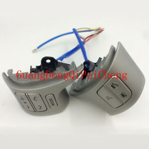 84250 02200 New Bluetooth Steering Wheel Audio Control Switch Fit Toyota Corolla
