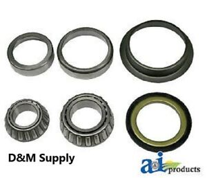 Ford Tractor Front Wheel Bearing Kit 2000 2300 2600 2610 3000 3600 3610 4100