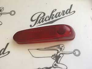 1941 1942 Packard 110 120 Tail Light Lens Minor Defect