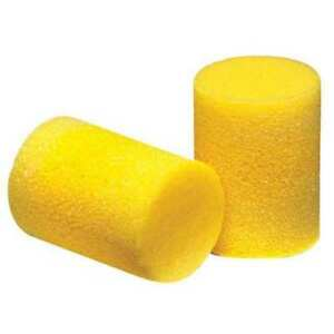 Uncorded Ear Plugs 33db Rated Disposable Cylinder Shape Pk 200 3m 310 1101