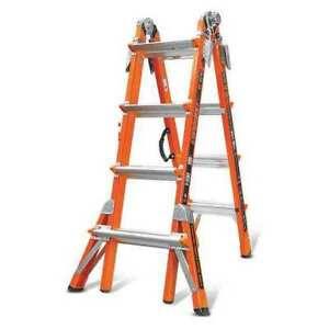 Multipurpose Ladder 17 Ft ia fiberglass Little Giant 15144