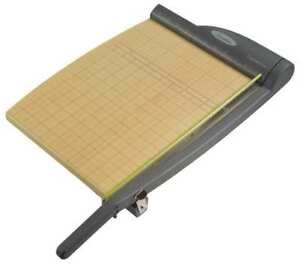 Guillotine Paper Trimmer 15 Sheets 12in Swingline 9112a