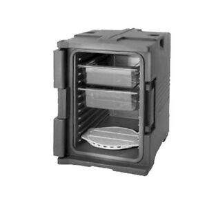 Cambro Upc400131 Front Loading Camcarrier Ultra Pan Carrier dark Brown