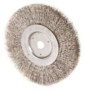 Weiler 93393 Crimped Wire Wheel Wire Brush Threaded Arbor
