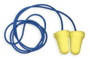 Corded Ear Plugs 28db Rated Disposable Bell Shape Pk 200 3m 312 1222